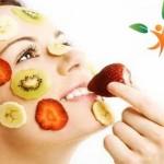 cilt için meyve sebze