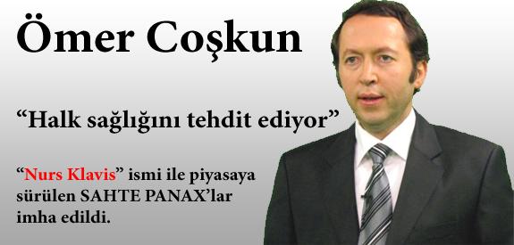 Ömer Coşkun sahte Panax ürünleri imha edildi