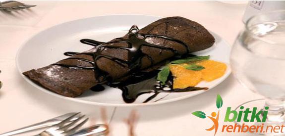 çikolatalı krep